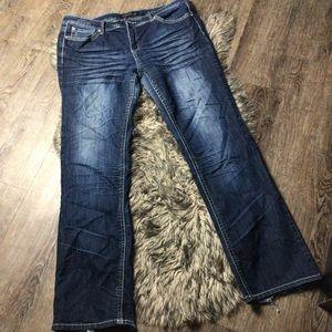 Twenty-one Black Rue 21 Jeans